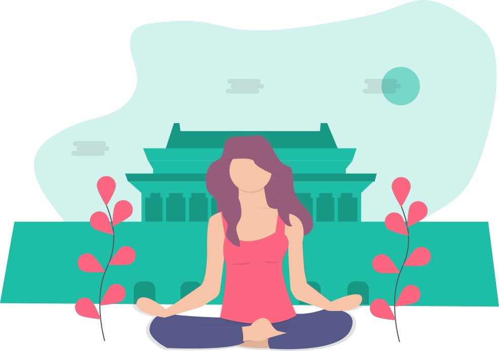 Yoga & Meditation - Feel inner peace and happiness during Covid-19. Be Stress Free in Covid-19!